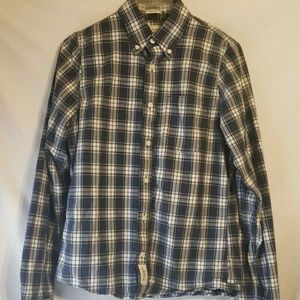 Abercrombie & Fitch Plaid Muscle Shirt M